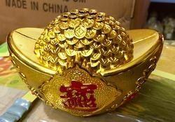 Gloden Hundi Lucky Hundial Money Savings For Kids Feng Shu