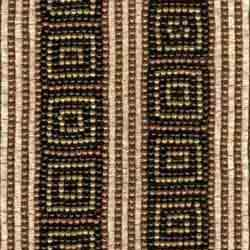 Embroidered Beaded Fabrics