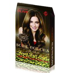 Herbal Gold Henna Hair Color Brown Cosmic International Mumbai