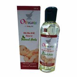 olive care AD婴儿油,包装尺寸:100ml瓶