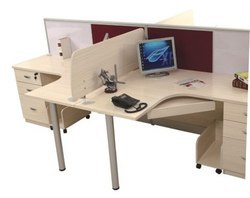 Modular Office Staff Table Workstation