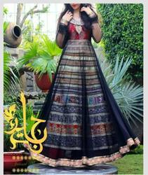 Multi Color Anarkali Suit