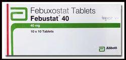 Febustat Febuxostat Tablet, 1x10 , Packaging Type: Strip