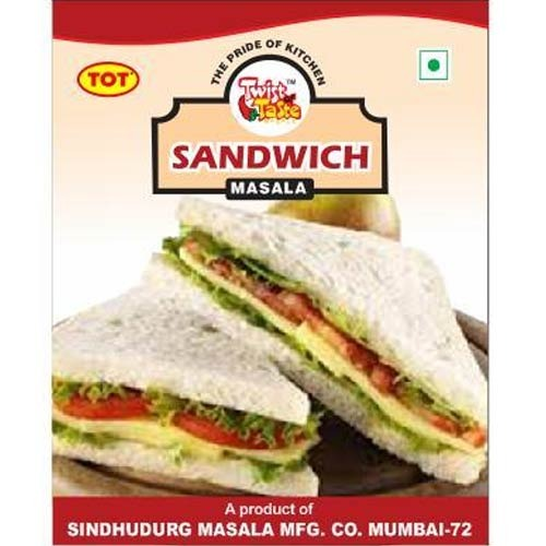 TOT Natural Sandwich Masala, COOL AND DRY PLACE