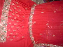 Party Wear Hand Embroidered Salwar Suit