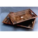 Traditional Wooden Serving Trays