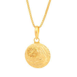 Pendants square shaped golden tanishq pendant manufacturer from indore aloadofball Choice Image