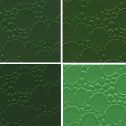 Green PVC Leather Cloth