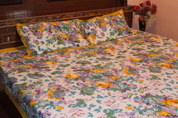 Printed Floral Print Bed Sheets