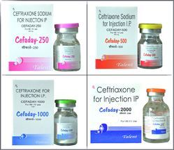 Allopathic Ceftriaxone Sodium Injections, Prescription, Packaging Type: Glass Ampoules