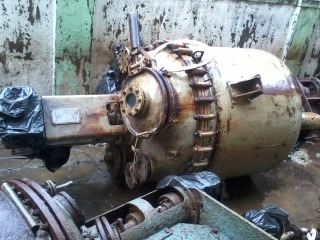 Old Glass Lined Reactor 1 Kl