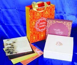 Cardboard Wedding Invitation Cards