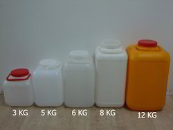 Plastic Square Jars
