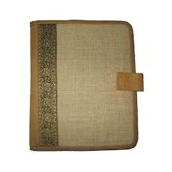 Jute Portfolio Document Bag