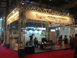 Tabletop Trade Show Displays Square Truss