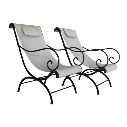 Very best Wrought Iron Folding Chair at Rs 1500 /pieces | Wrought Iron Chair  RG85