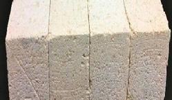 Straight Brick Buff Yellow Insulating Fire Bricks, For Side Walls, Size: 9x4.5x3