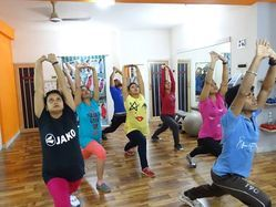 Streching And Holding Class Health Center
