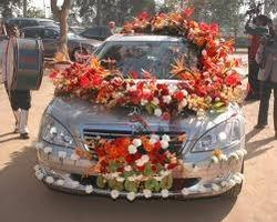 Car Flower Decoration