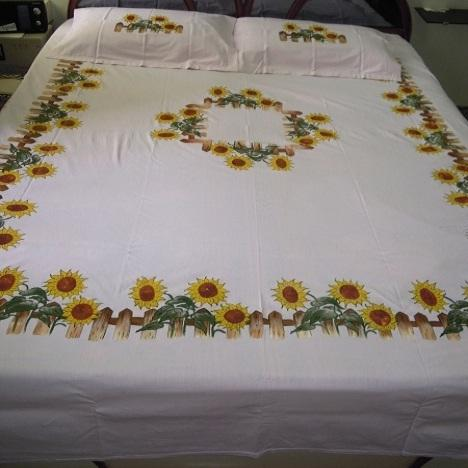Bedsheet Fabric Paintings Navani Creations Manufacturer In