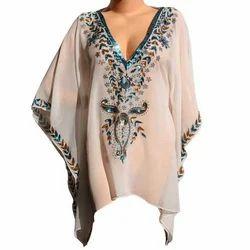Embroidered Kaftan Dresses