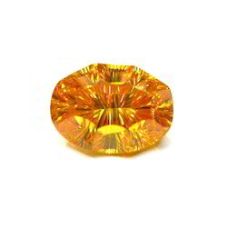 Concave Cut Rock Crystal Stone