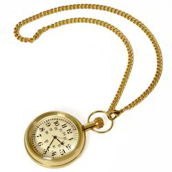 Usable Real Brass Gandhi Watch 235