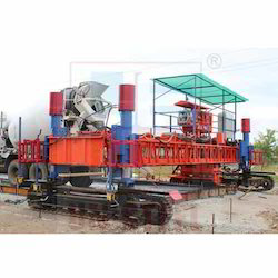 Electronic Sensor Concrete Paver Machine