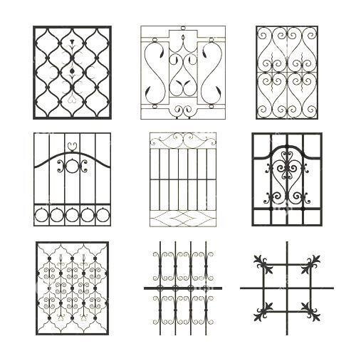 View Specifications Details Of Modern: View Specifications & Details Of Window Grills By Svvt Press & Structural