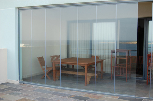 Frameless Folding Glass Door View Specifications Details Of