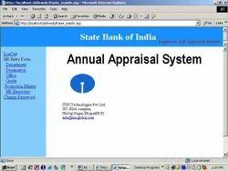 Online Appraisal system