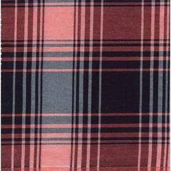 NGAMC1022 Indigo Yarn Dyed Checks Fabric