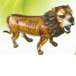 FRP Lion Statue For Garden Decoration