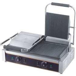 Ss Double Sandwich Griller, for Commercial