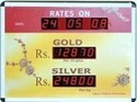 Jewellery Rate Display Systems