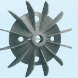 Plastic Fan Suitable For 132 Frame Size