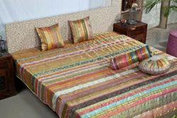 Silk Bedspread Set