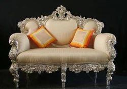 Silver Sofa Set Manufacturers & Suppliers Of Silver Sofa Set Chandi Ka Sofa Set