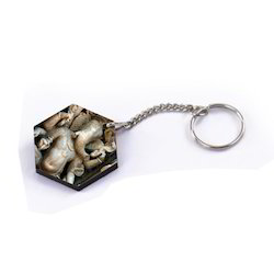 Laser Cut  Sublimate Key Ring