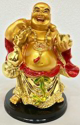 Laughing Buddha Happy Man Chinese Feng Shui Kuberar