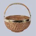 Round Deep Cane Basket