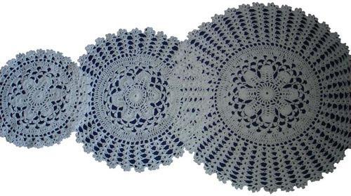 crochet lace products - Handmade Crochet Cotton Lace Goods Manufacturer  from Narsapur