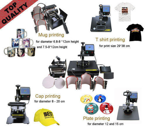 8 in 1 Combo Heat Press Machine - Samriddhi Retails