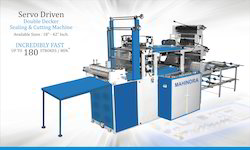 Servo Double Deccer Sealing & Cutting Machine