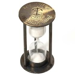 Real Brass 1 Minute Sand Timer 243
