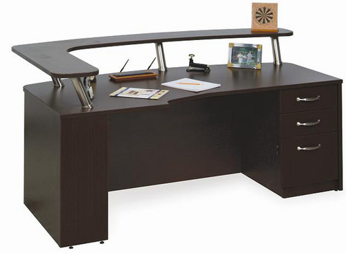 Office Reception Table Payal Furniture Manufacturer in Nagpur