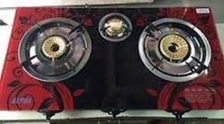 Three Burner Automatic Gas Stove