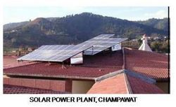 Solar Power Plant, Champawat