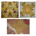 Byzantine Crosses Fabric