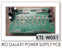 IRO Galaxy Power Supply PCB Weft Feeders